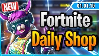 Fortnite Daily Shop 'NEW' DJ BOP SKIN (1 Januar 2019)