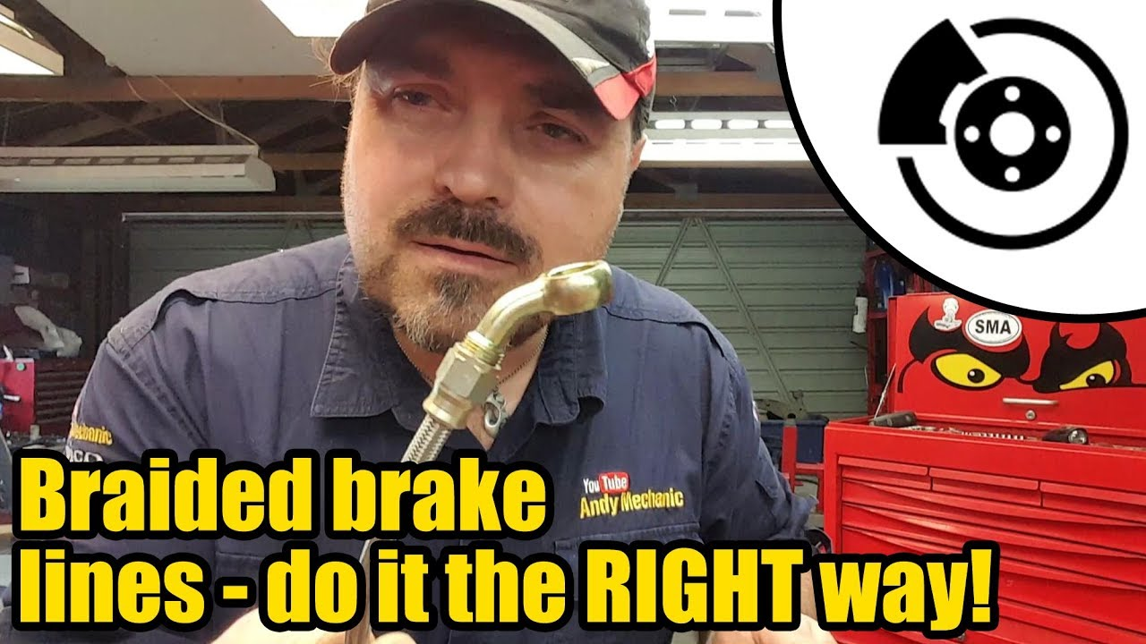 Download How to make Stainless steel braided brake lines the RIGHT way #1336