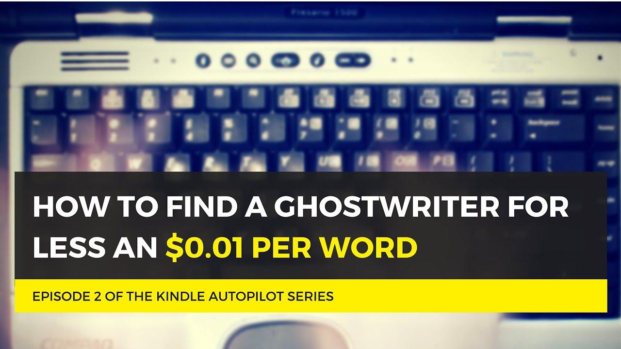 Find a ghostwriter