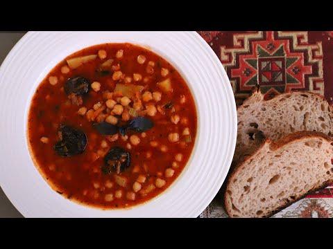 Суп из Нута с Черносливом - Рецепт от Бабушки - Армянская Кухня - Эгине - Heghineh Cooking Show
