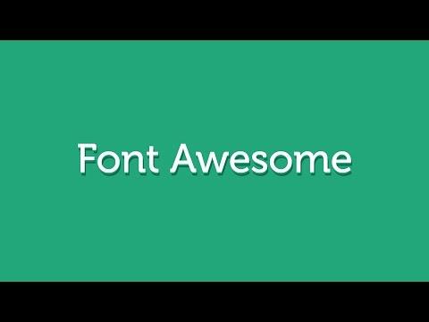 Как подключить и использовать шрифтовые иконки Font Awesome