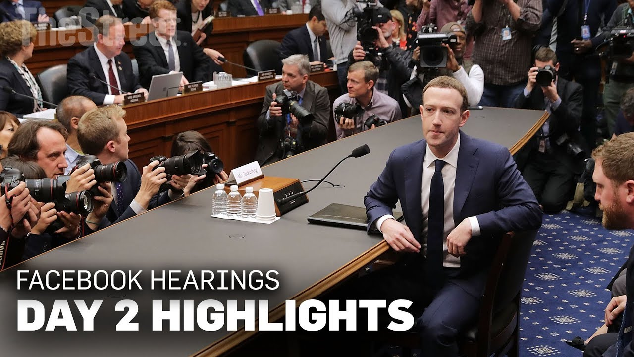 Facebook Congressional Hearings: Highlight Reel Day 2 ...
