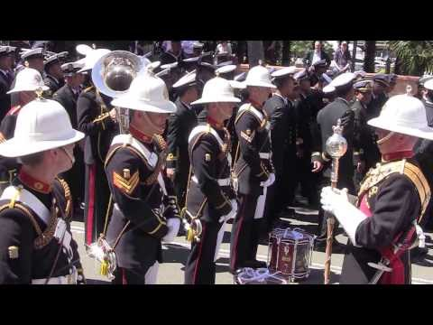 Band of the Royal Marines Plymouth in Sydney Australia - 9 October 2013