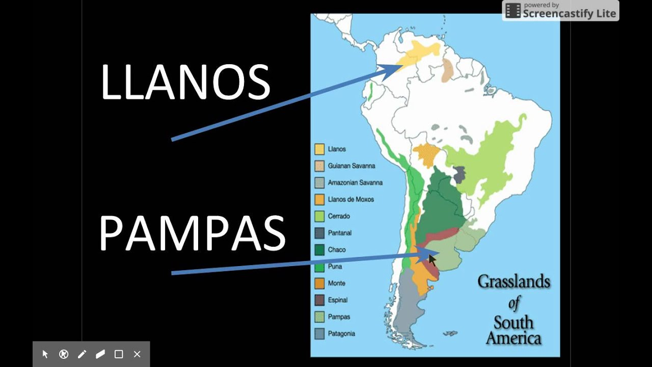 Pampas Latin America Map With Rivers Pictures to Pin on ...
