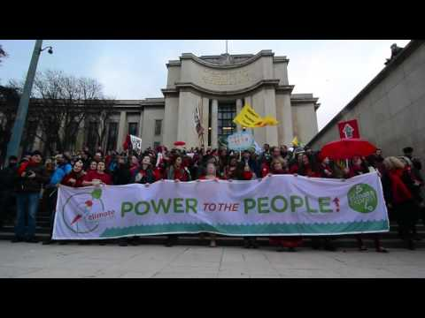 Stop Climate Chaos Paris COP21 by Roman Beno, MMA1, DCU