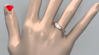 Bije.ru: Позолоченное кольцо с кристаллами Swarovski Jeannine (Жаннин)(, 2015-02-16T12:55:15.000Z)