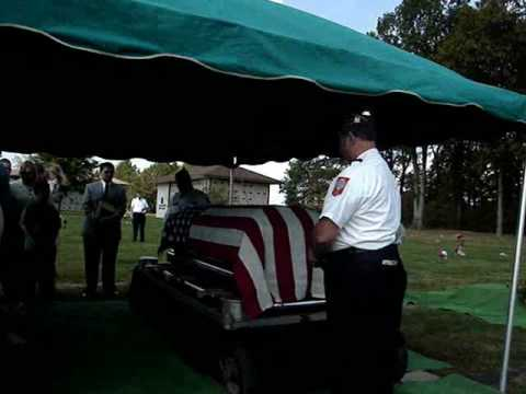 VFW funeral ceremony