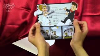 Свадебные приглашения САКУРА 5404