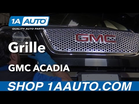How to Replace Grille 07-16 GMC Acadia