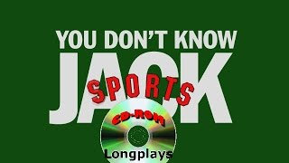 You Don't Know Jack Sports (CD-ROM Longplay #29)
