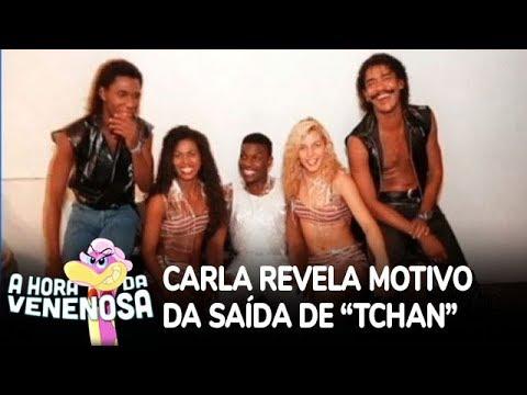 """Carla Perez revela motivo da saída de """"É o Tchan"""""""
