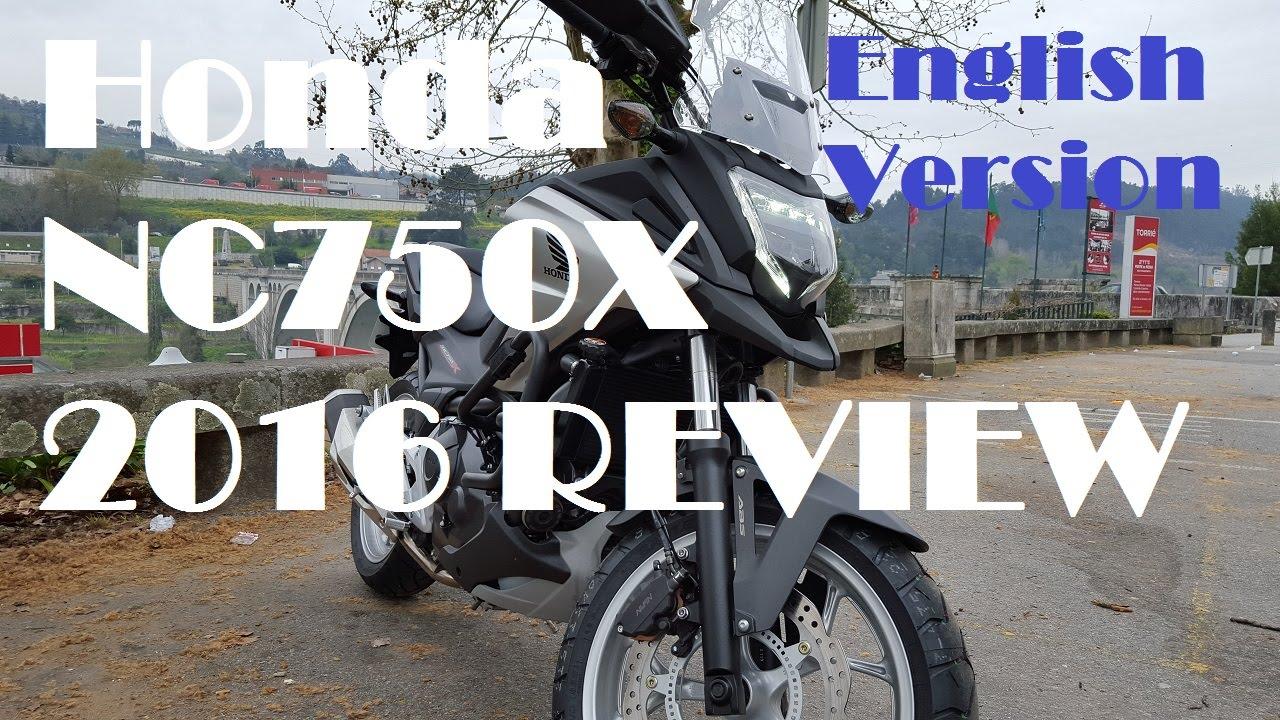 Honda Nc750x 2016 Review English Version Youtube