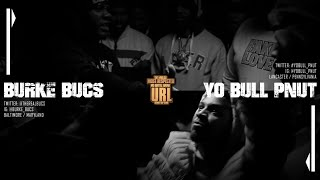 BANNED LEGACY: BURKE BUCS VS YO BULL PNUT RAP BATTLE | URLTV
