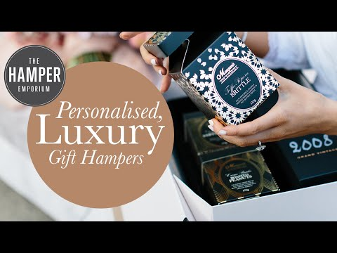 About The Hamper Emporium – Personalised, Luxury Gift Hampers