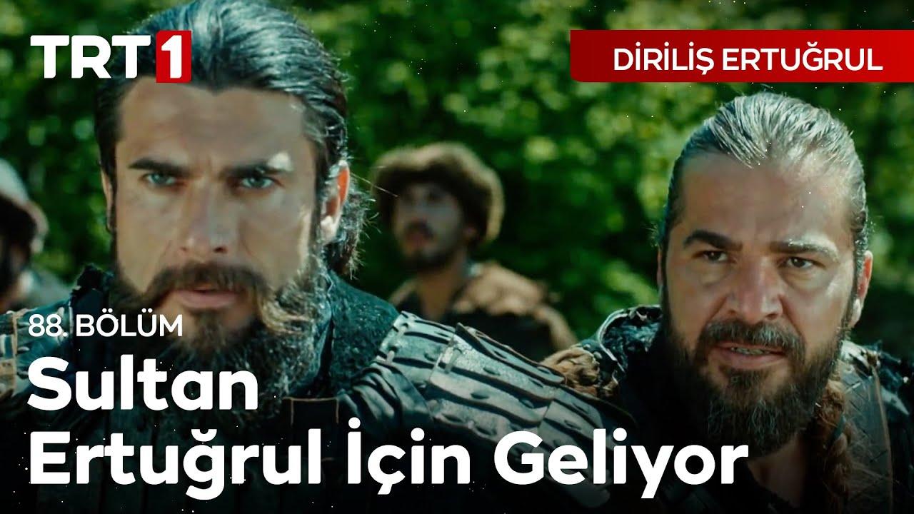 Diriliş Ertuğrul 88.Bölüm,Sultan Alaaddin Keykubat'ın Ertuğrul'u Kurtarması