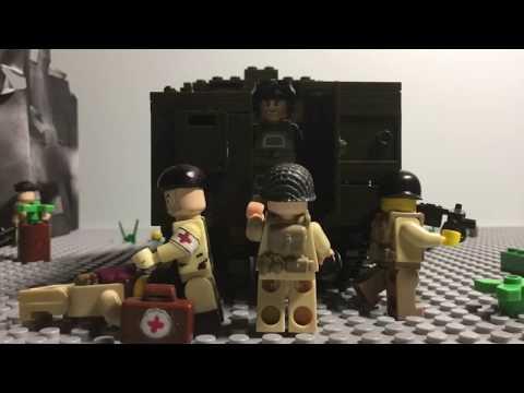 Lego WW2 Battle of Aachen (Complete)