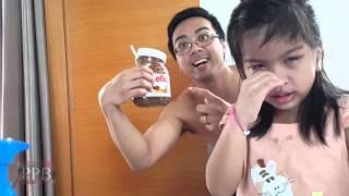 Mean Parents /  Prank the kids - Nutella poop prank