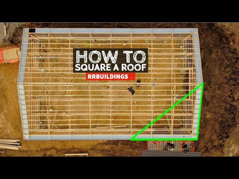 Complete Step by Step How To Square a Roof
