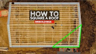 Complete Step by Sтep How To Square a Roof