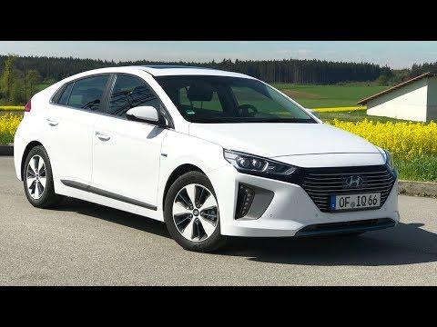 Hyundai IONIQ Plug-In-Hybrid PHEV 2017 im Test - Fahrbericht Deutsch
