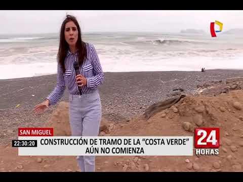 Costa Verde: construcción del tramo que unirá a Lima y Callao aún no comienza