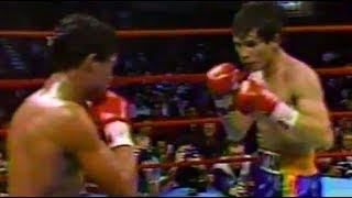 🥊【昭和61年】フリオ・セサール・チャベス VS.ファン・ラポルテ【ボクシング】Julio César Chávez vs.Juan La Porte