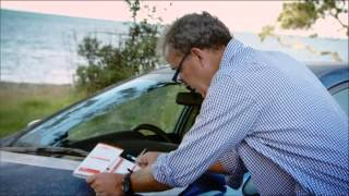 Top Gear - Jeremy Clarkson fills up an accident report form