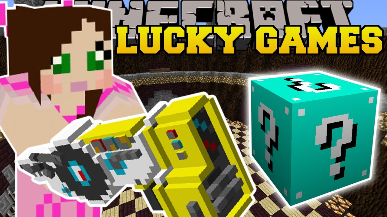 Minecraft: DUBSTEP GUNS EXPLOSIVE CHALLENGE GAMES - Lucky Block Mod - Modded Mini-Game