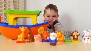 Животные для самых маленьких Ноев Ковчег   Интерактивная развивающая игрушка от  Будинка Іграшок