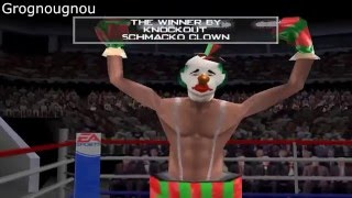 Play as a Clown in Knockout Kings 2001 (Hidden Boxer)