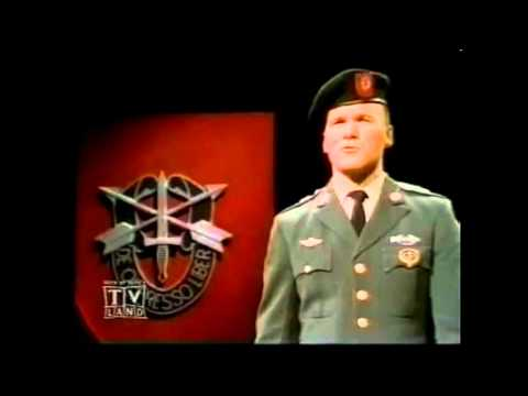 Ballad of the Green Berets  HD    SSGT Barry SADLER