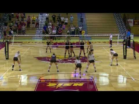 Northern State Volleyball 2017 Highlights