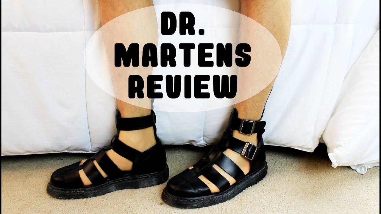 Shoe Review Dr Martens Geraldo Youtube