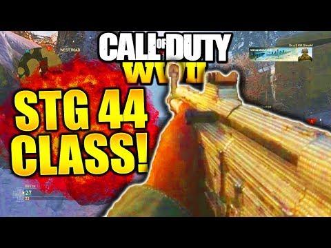STG 44 BEST CLASS SETUP WORLD WAR 2! COD WW2 STG44 BEST CLASS SETUPS COD WORLD WAR 2!