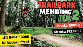 Trailpark Mehring 2020 | Die anspruchsvolleren Strecken: Freeride & Enduro Trail | Leo Kast