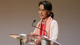 An Address by Aung San Suu Kyi of Myanmar (Complete)