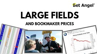 Large fields and bookmaker prices - Just place a bet on the exchange!