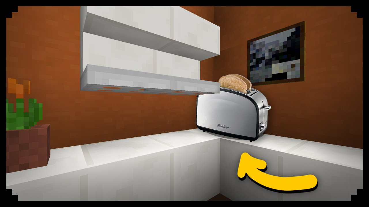 Minecraft: How To Make A Toaster