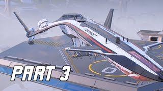 Mass Effect Andromeda Walkthrough  Part 3 - TEMPEST RISING (PC Ultra Let