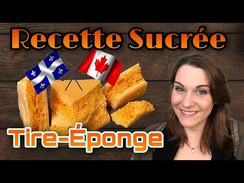 """recette-sucrerie:-""""tire-éponge""""-québec/canada"""