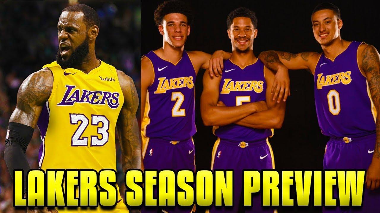 e7cc6208d8af 2018-19 NBA Season Preview  Los Angeles Lakers - YouTube