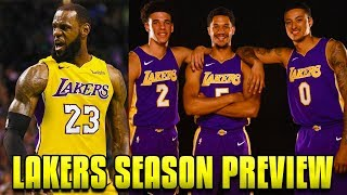 2018-19 NBA Season Preview: Los Angeles Lakers