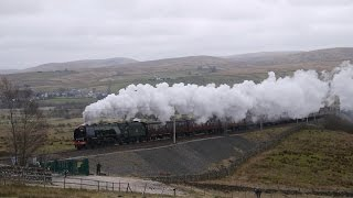 A Duchess defeated by Shap The Midday Scot 46233 Duchess of Sutherland Greenholme 19 March 2016