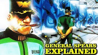 ALIENS GENERAL SPEARS EXPLAINED THE MOST AMBITIOUS MAN NIGHTMARE ASYLUM