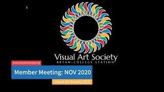 Nov 2020 Member Meeting w/ Maegan Kirshner