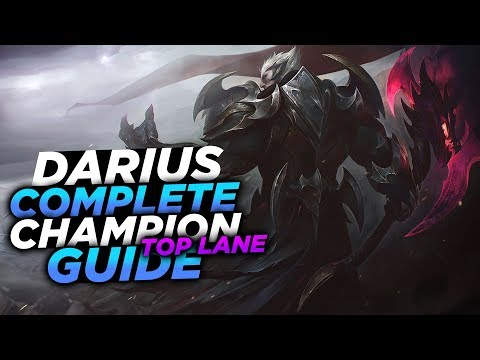 IT'S THE DUNKMASTER!! - SEASON 8 DARIUS GUIDE! - League of Legends