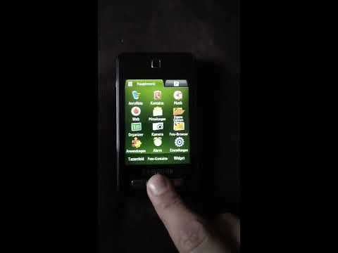 Samsung SGH-F480i Handy zurücksetzen (reset) bei Passwort vergessen!