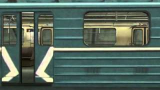 Trainz - Real Moscow Metro Line PART 2