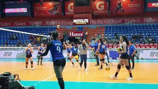 Ateneo Lady Eagles Free Spiking vs San Sebastian