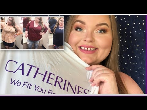 Cathrine's Plus Size Try On & Review Spring 2018